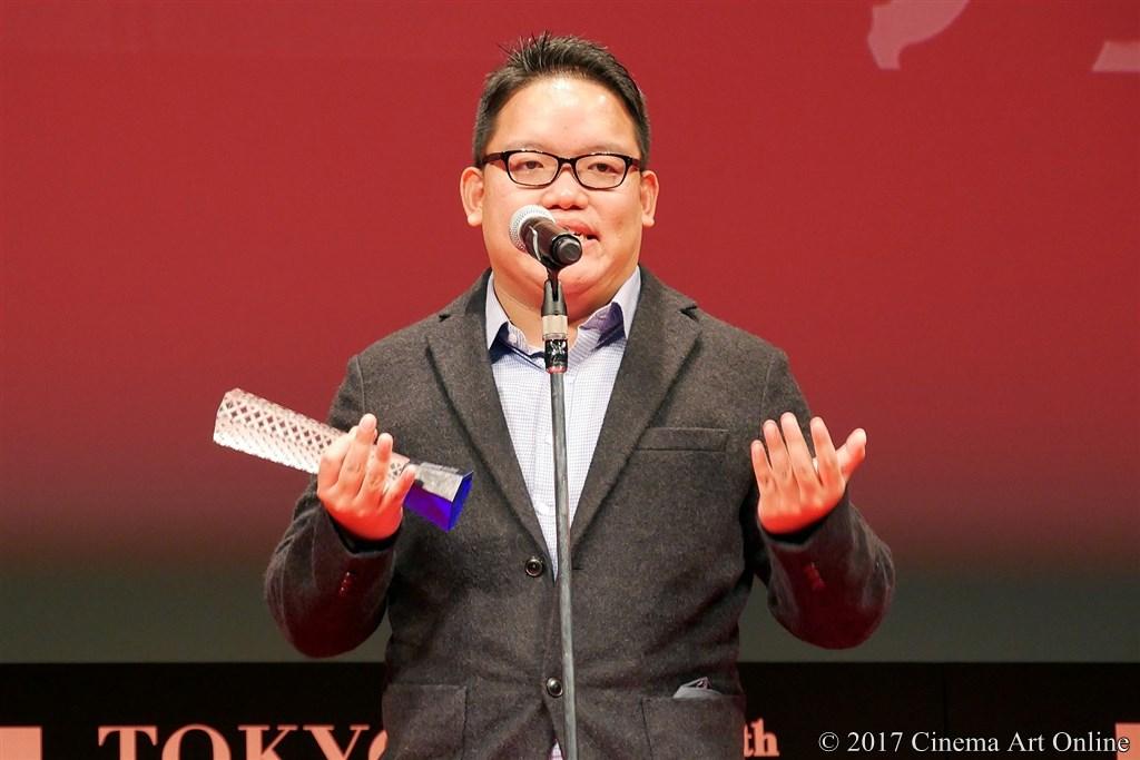 【写真】コンペティション部門 最優秀監督賞受賞 エドモンド・ヨウ監督