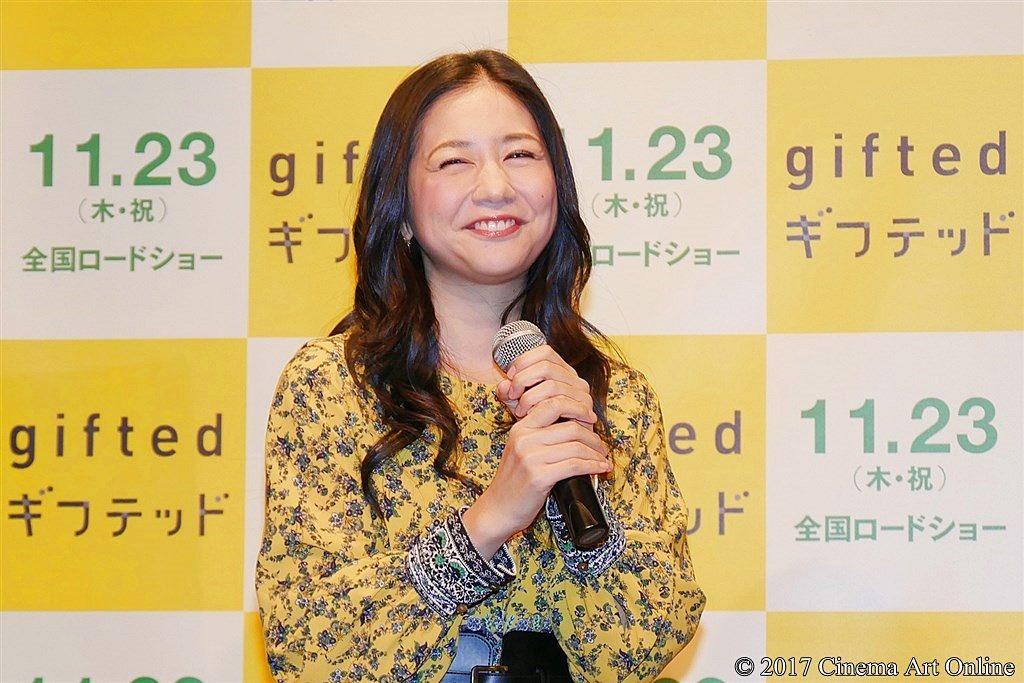 【写真】映画『gifted/ギフテッド』公開直前イベント 関根麻里