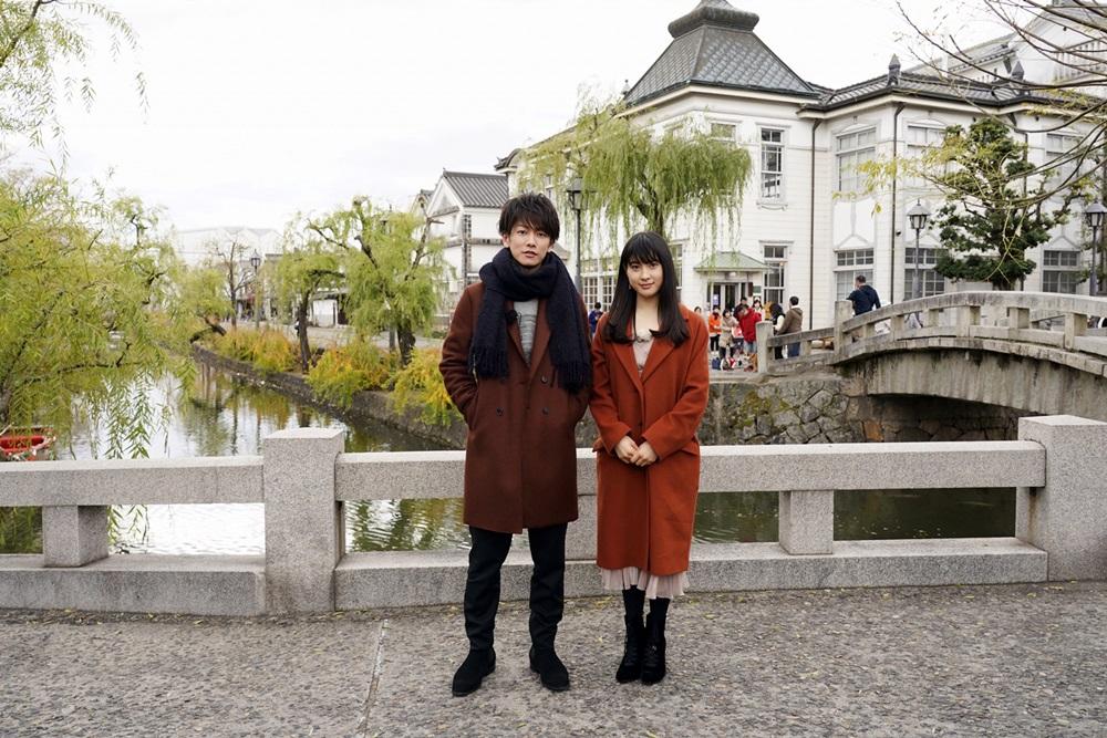 【写真】映画『8年越しの花嫁 奇跡の実話』佐藤健&土屋太鳳 岡山訪問