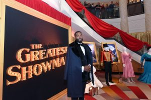 """Yahya Abdul-Mateen II attends as Cunard Hosts World Premiere of 20 th Century Fox's """"The Greatest Showman"""" on board Greatest Ocean Liner, Flagship Queen Mary 2, on Friday, Dec. 8, 2017, in Brooklyn, N.Y. This is the first ever major motion picture premier to take place on board a passenger ship. (Photo by Diane Bondareff/Invision for Cunard/AP Images)"""