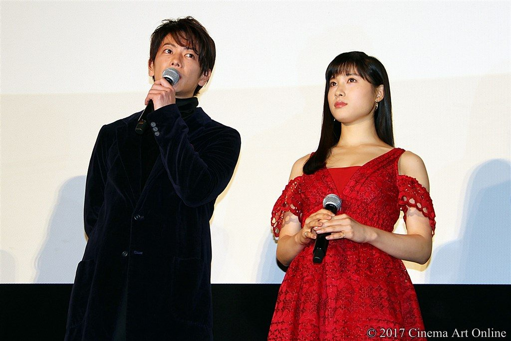 【写真】映画『8年越しの花嫁 奇跡の実話』公開初日舞台挨拶 佐藤健