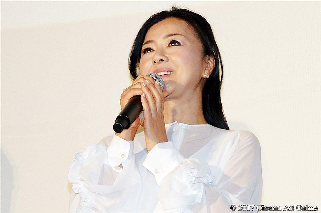 【写真】映画『8年越しの花嫁 奇跡の実話』公開初日舞台挨拶 薬師丸ひろ子