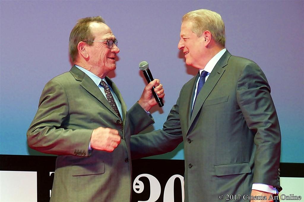 【写真】アル・ゴア(米元副大統領)& トミー・リー・ジョーンズ