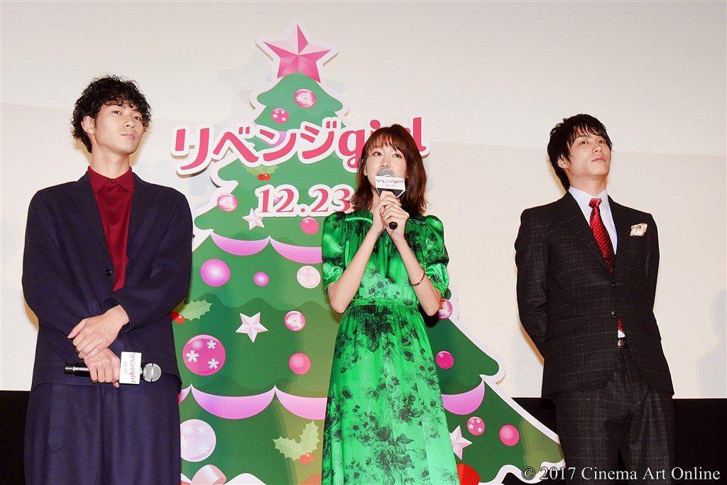【画像】映画『リベンジgirl』完成披露イベント  桐谷美玲、鈴木伸之、清原翔