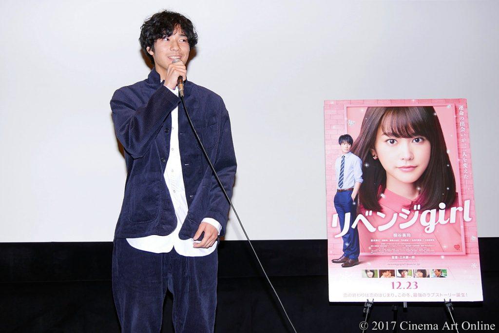 【写真】映画『リベンジgirl』スペシャル試写会 トークショー 清原翔