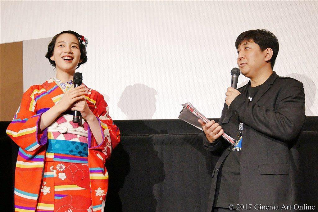 【写真】映画『KUBO/クボ 二本の弦の秘密』大ヒット記念トークイベント のん、岩田和明映画秘宝編集長