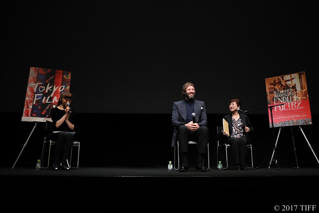 【写真】第30回 東京国際映画祭(TIFF) 特別招待作品『エンドレス・ポエトリー』アダン・ホドロフスキー Q&A