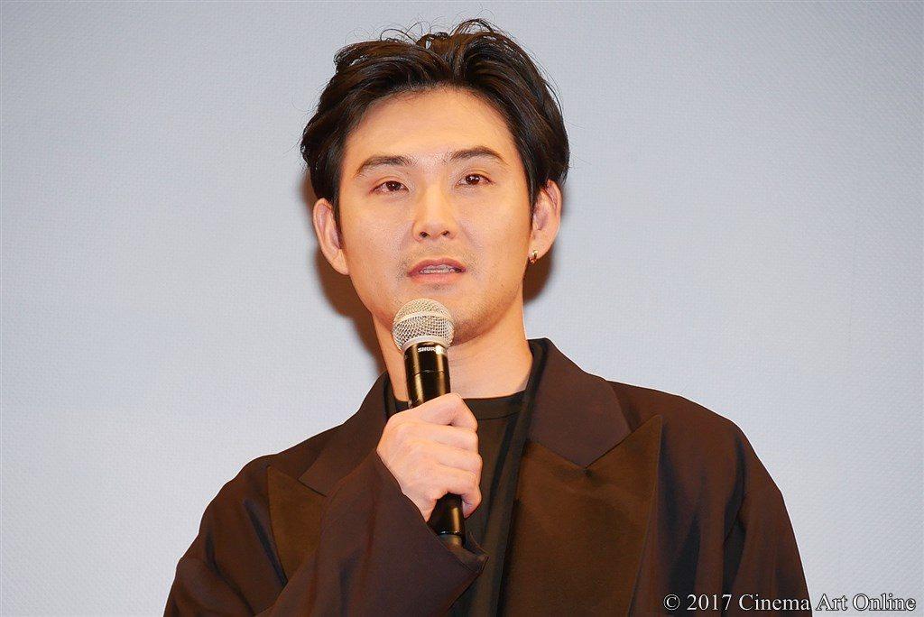 【写真】映画『羊の木』完成披露試写会 松田龍平