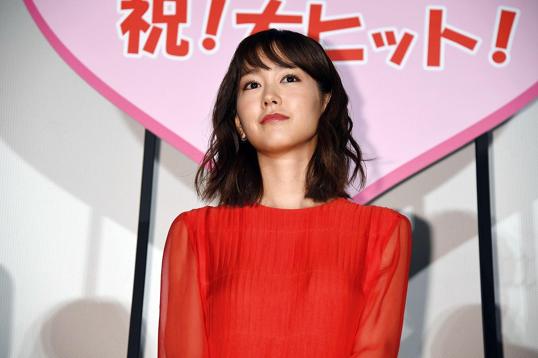 【写真】映画『リベンジgirl』公開初日舞台挨拶 桐谷美玲