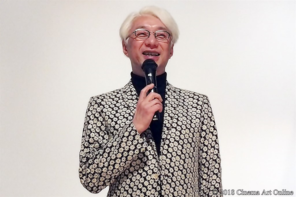 【写真】映画『星くず兄弟の新たな伝説』公開初日舞台挨拶 手塚眞監督