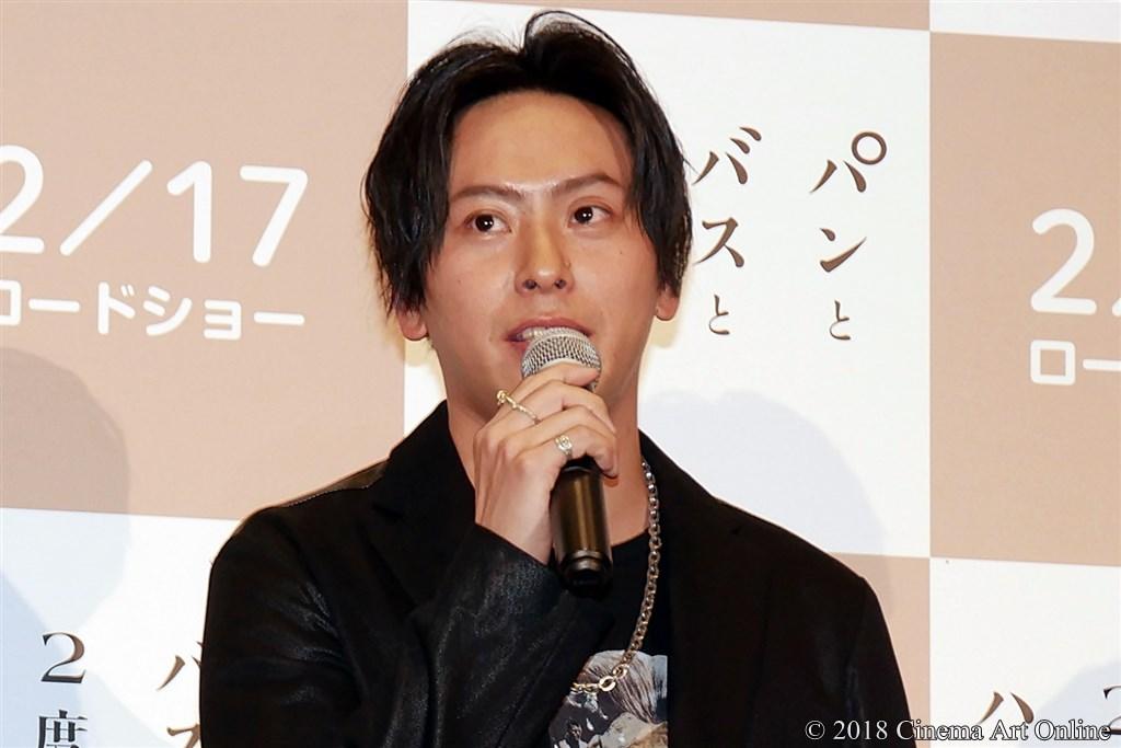 【写真】映画『パンとバスと2度目のハツコイ』完成披露舞台挨拶 山下健二郎