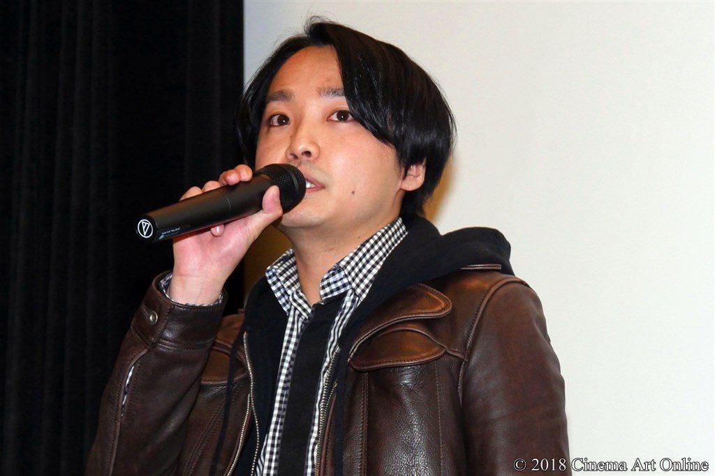映画『サラバ静寂』公開初日舞台挨拶 宇賀那健一監督