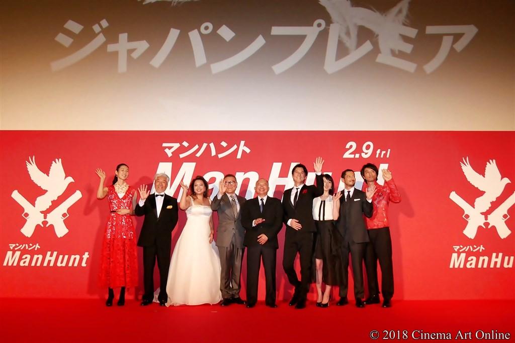 【写真】映画『マンハント』(追捕 Manhunt) ジャパンプレミア