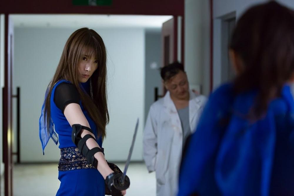 【画像】映画『LADY NINJA 〜青い影〜』場面カット