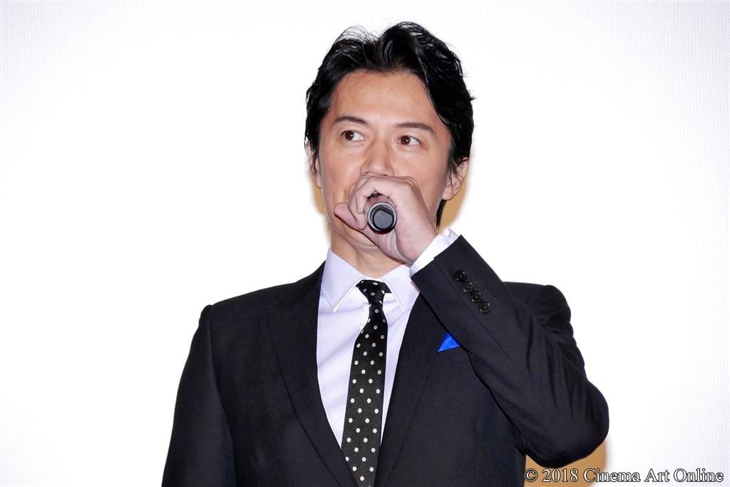 【写真】映画『マンハント』公開記念舞台挨拶 福山雅治