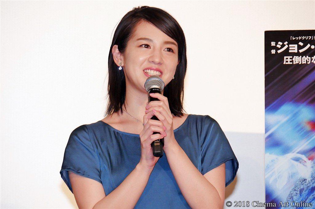 【写真】映画『マンハント』公開記念舞台挨拶 桜庭ななみ