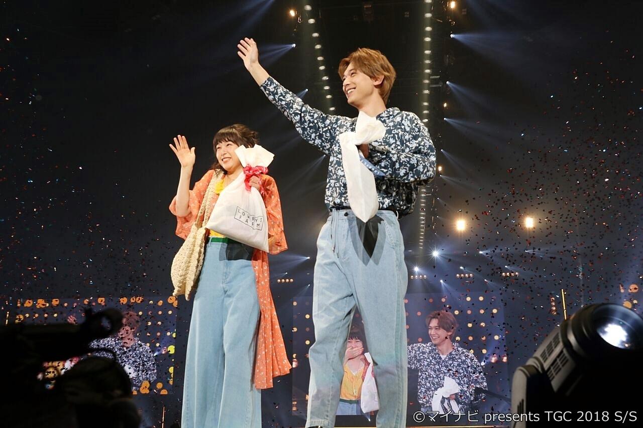 【写真】TGC2018 S/S ランウェイ 映画『ママレード・ボーイ』桜井日奈子&吉沢亮