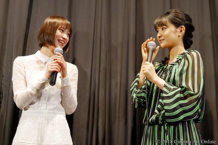 【写真】映画『ラーメン食いてぇ!』公開初日舞台挨拶 中村ゆりか、葵わかな