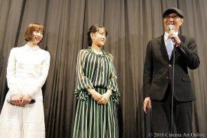 【写真】映画『ラーメン食いてぇ!』公開初日舞台挨拶 中村ゆりか、葵わかな、石橋蓮司