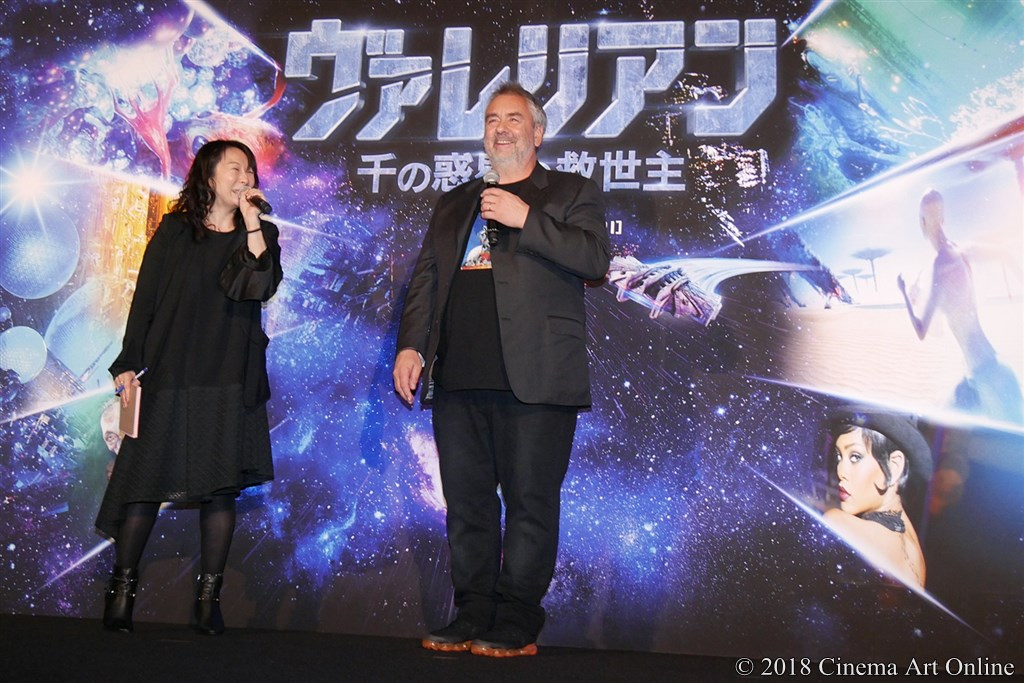 【写真】リュック・ベッソン監督