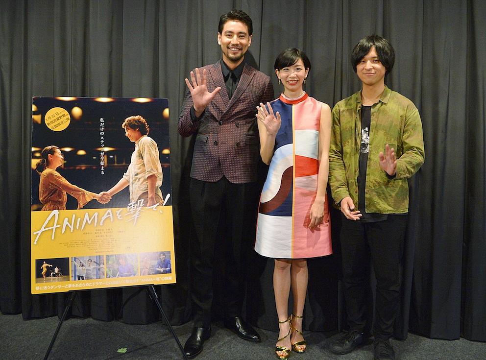 【写真】映画『ANIMAを撃て!』公開初日舞台挨拶フォトセッション