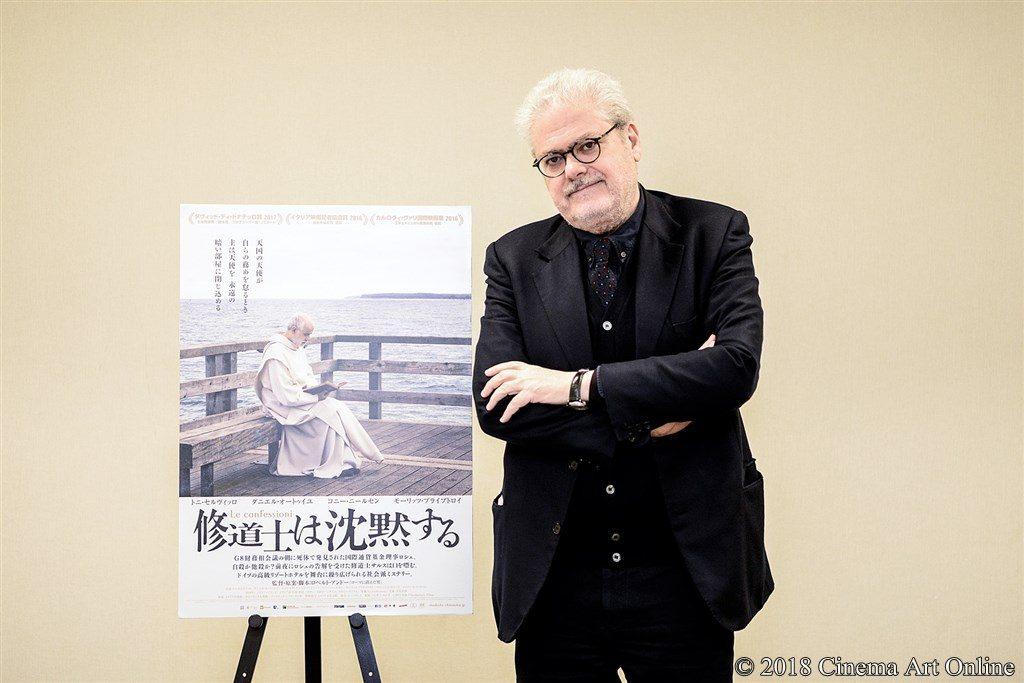【写真】映画『修道士は沈黙する』ロベルト・アンドー監督