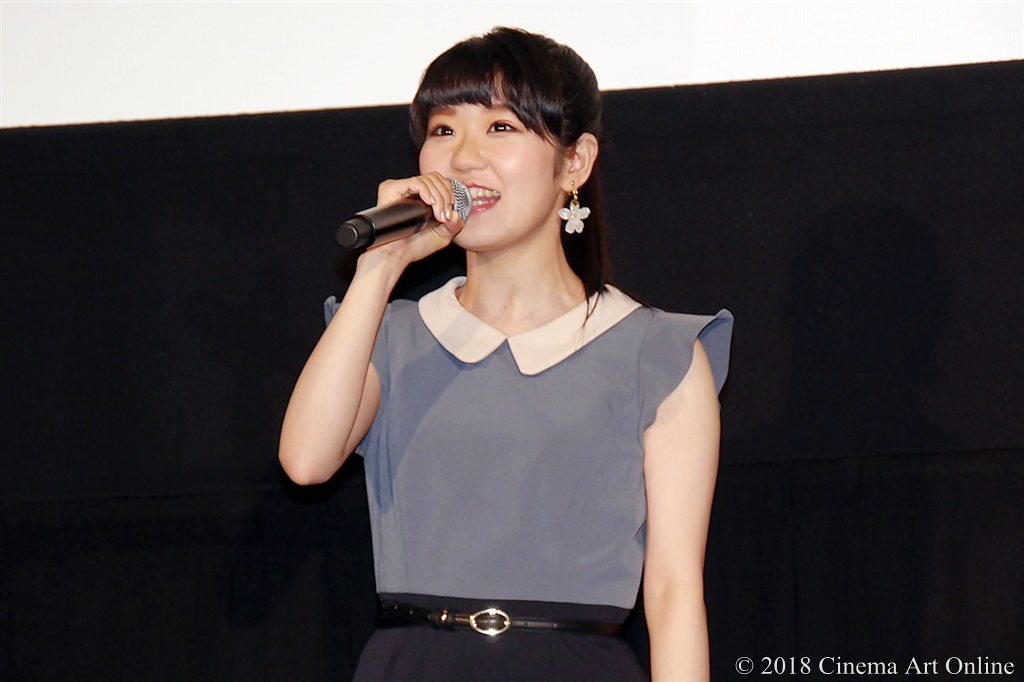 【写真】映画『リズと青い鳥』公開初日舞台挨拶 (東山奈央)