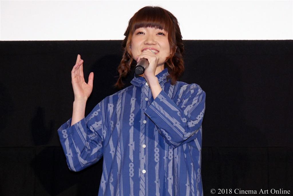 【写真】映画『リズと青い鳥』公開初日舞台挨拶 (種﨑敦美)