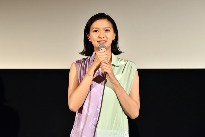 【写真】映画『家に帰ると妻が必ず死んだふりをしています。』第10回沖縄国際映画祭(OIMF) プレミア上映舞台挨拶 榮倉奈々