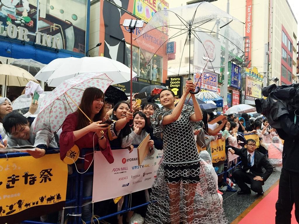 【写真】映画『家に帰ると妻が必ず死んだふりをしています。』第10回沖縄国際映画祭(OIMF) レッドカーペット (榮倉奈々)