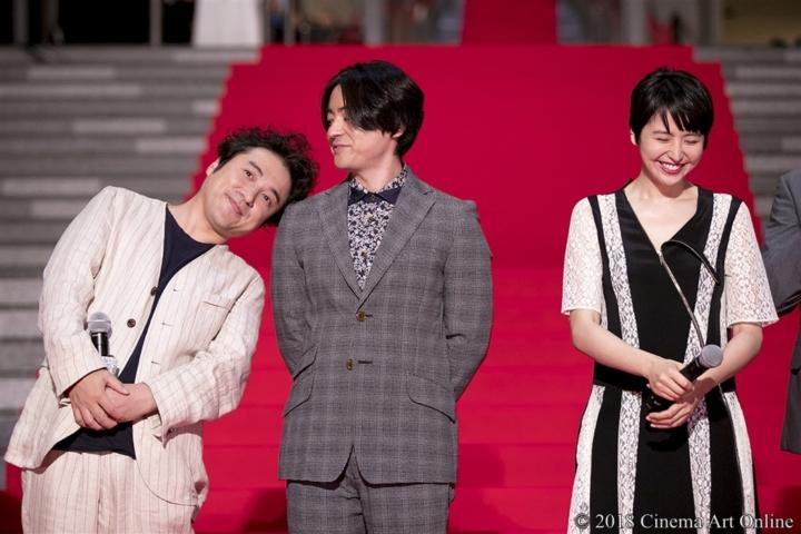 【写真】映画『50回目のファーストキス』レッドカーペット ムロツヨシ、山田孝之、長澤まさみ