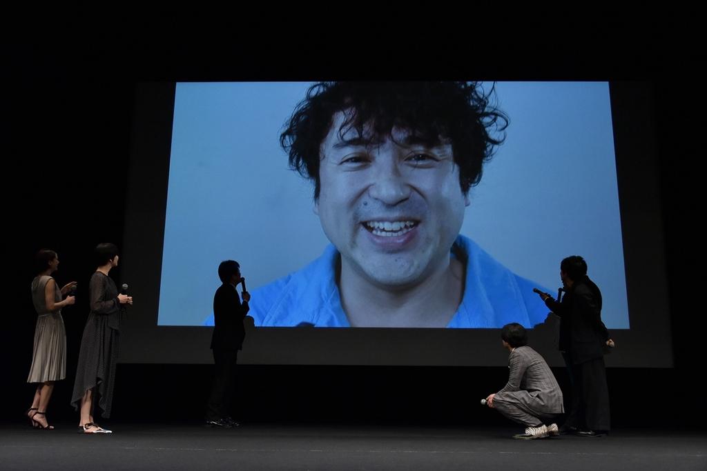 【写真】映画『50回目のファーストキス』完成披露イベント ムロツヨシ (映像)