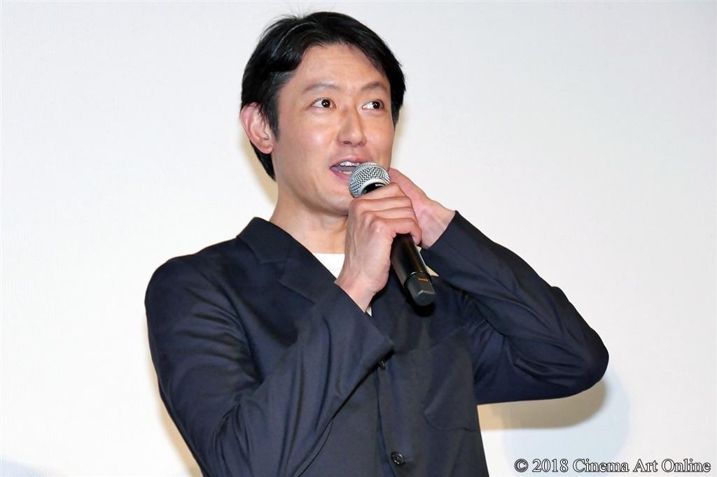【写真】映画『ママレード・ボーイ』公開記念舞台挨拶 筒井道隆