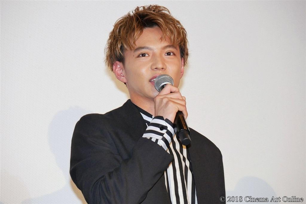 【写真】映画『ママレード・ボーイ』公開記念舞台挨拶 佐藤大樹