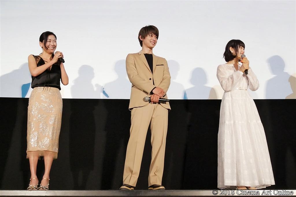 【写真】映画『ママレード・ボーイ』公開記念舞台挨拶 中山美穂、吉沢亮、桜井日奈子