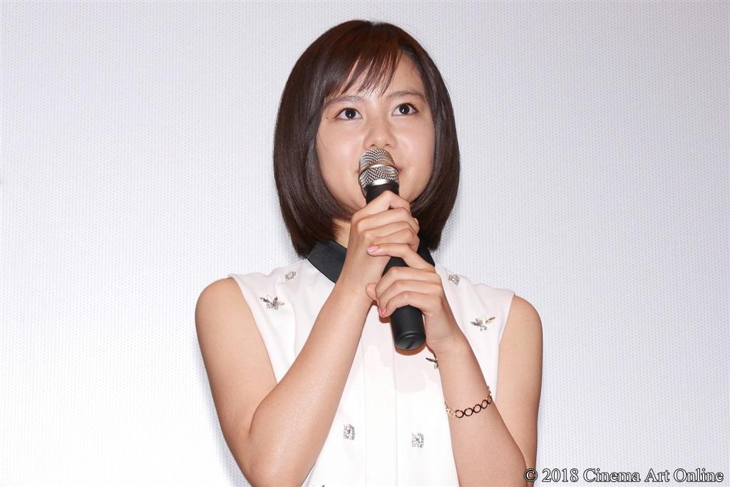 【写真】映画『兄友』公開初日舞台挨拶 (松風理咲)