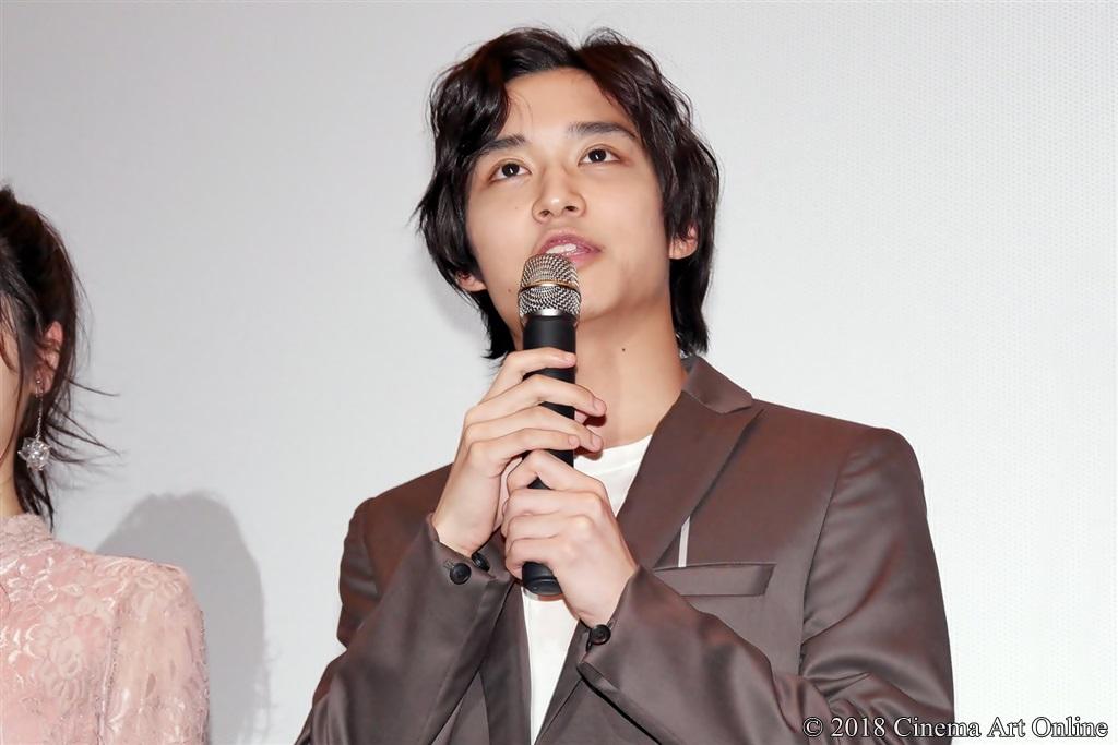 【写真】映画『兄友』公開初日舞台挨拶 (松岡広大)