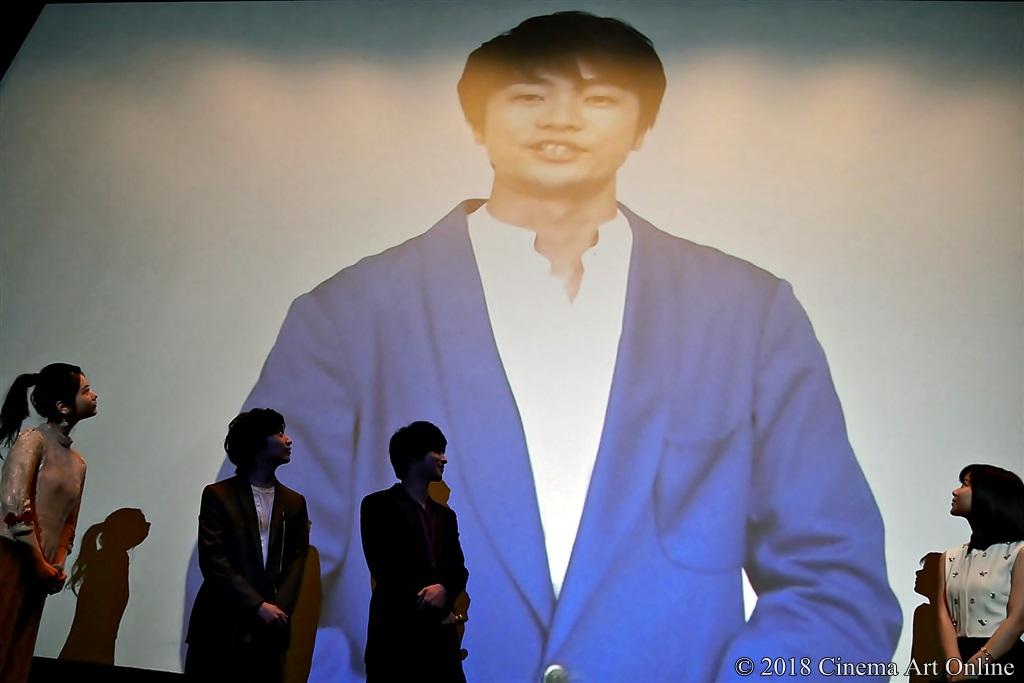 【写真】映画『兄友』公開初日舞台挨拶 (福山潤/映像メッセージ)