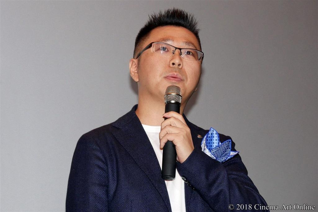 【写真】映画『兄友』公開初日舞台挨拶 (中島良監督)