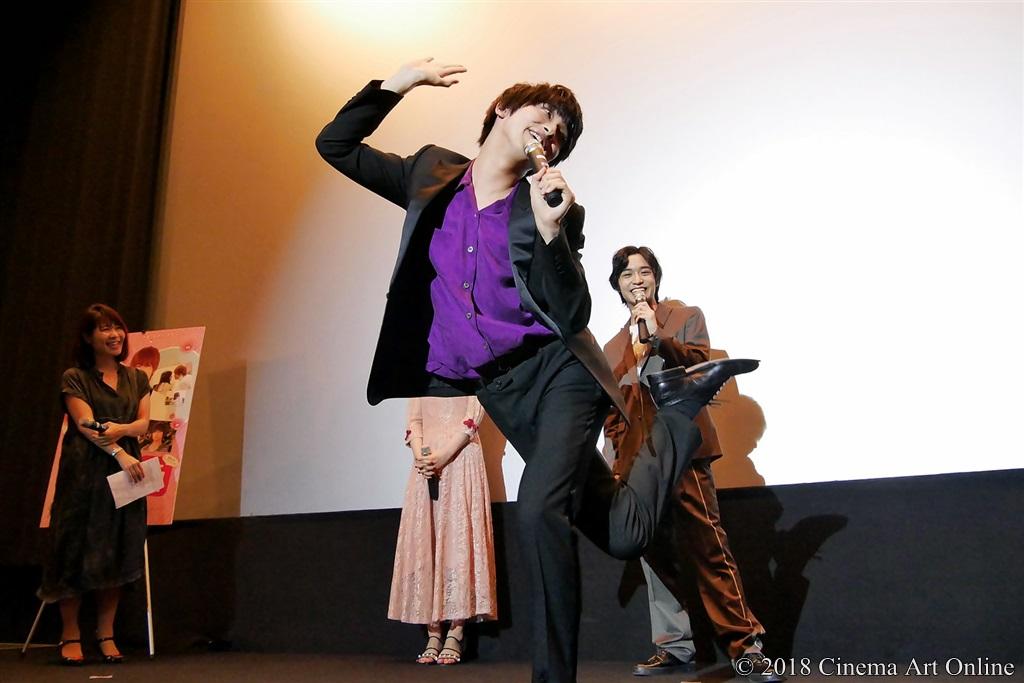 【写真】映画『兄友』公開初日舞台挨拶 横浜流星 「困ったワン!」
