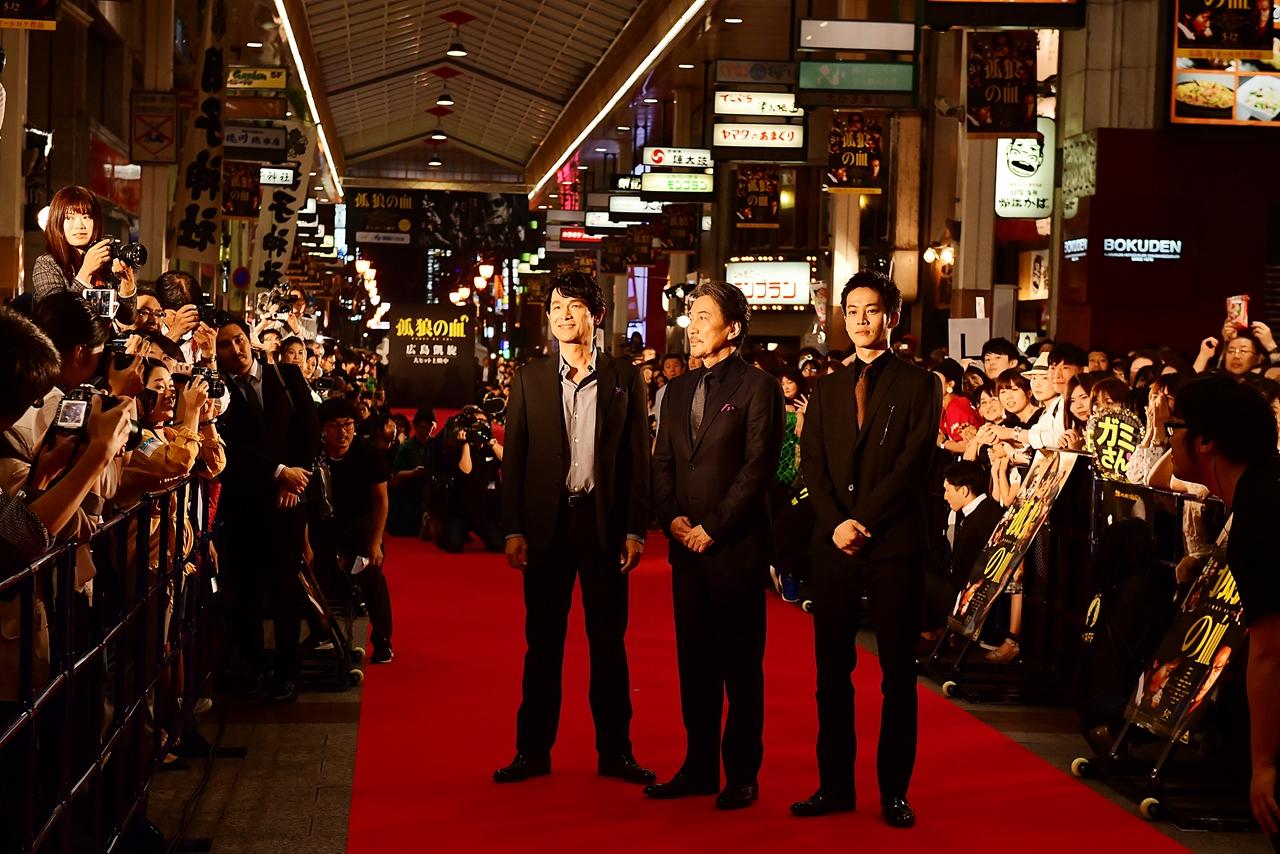 【写真】映画『孤狼の血』公開記念広島凱旋レッドカーペット