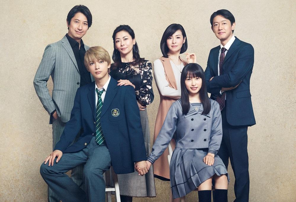 【画像】映画『ママレード・ボーイ』場面カット (家族写真)