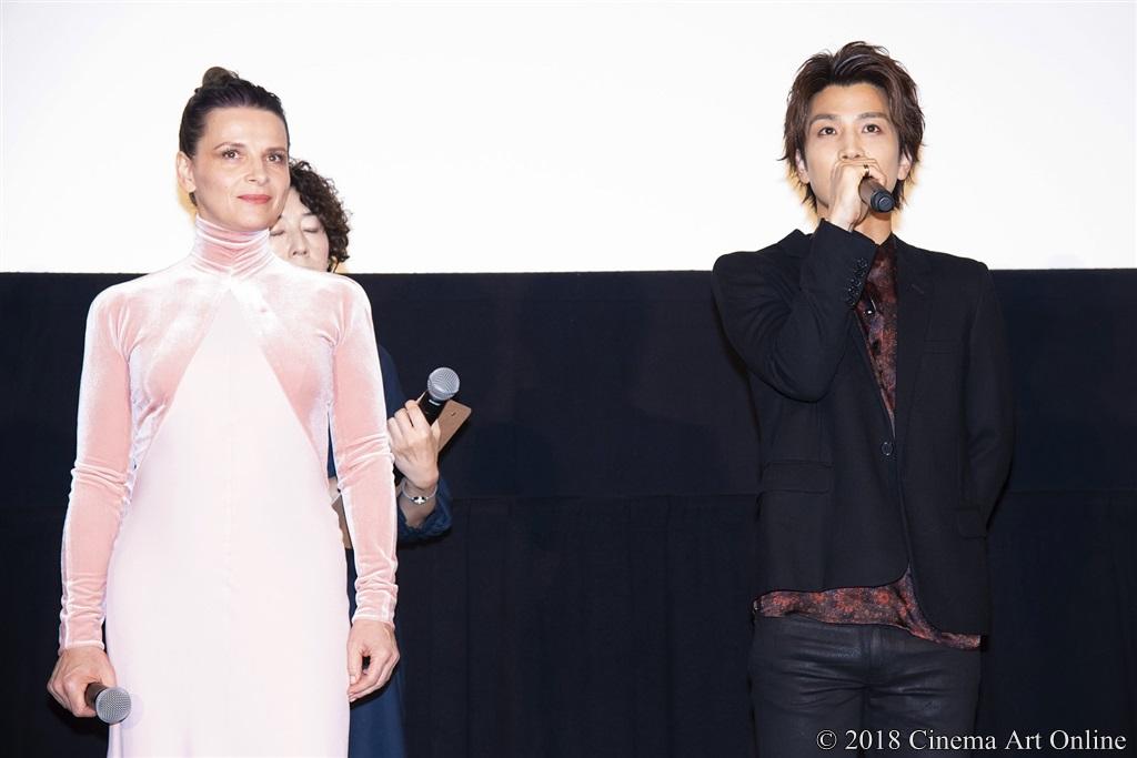【写真】ジュリエットビノシュ&岩田剛典