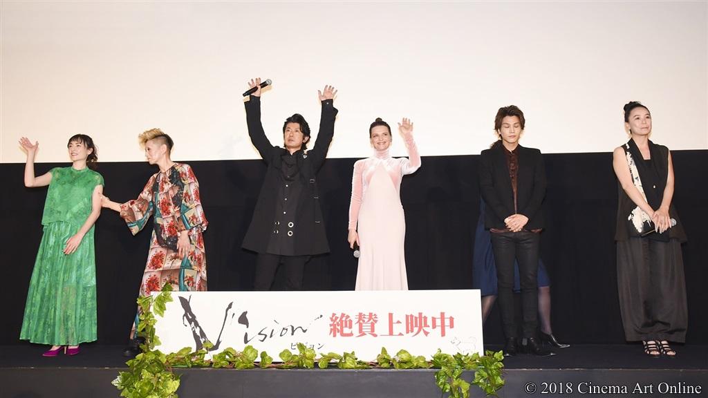 【写真】映画『Vision』公開記念舞台挨拶