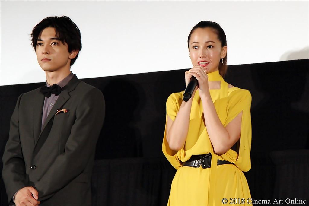 【写真】映画『猫は抱くもの』公開初日舞台挨拶 沢尻エリカ & 吉沢亮