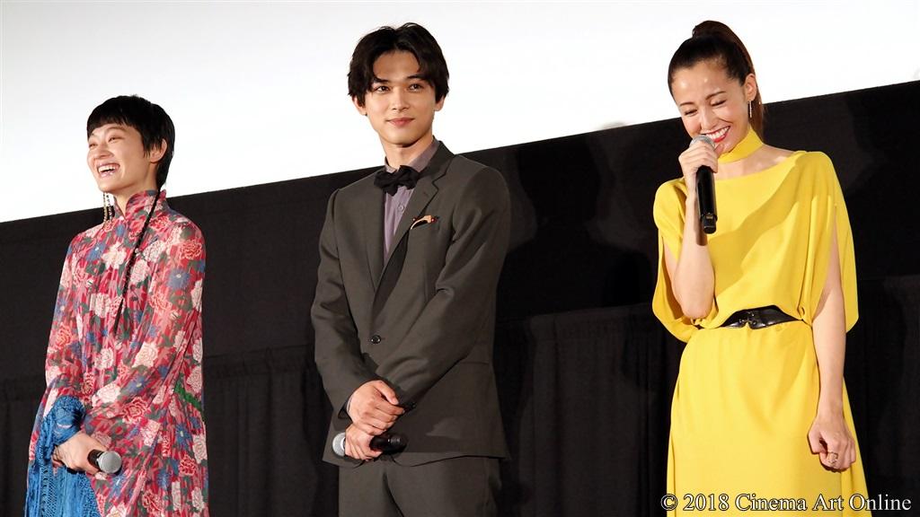 【写真】映画『猫は抱くもの』公開初日舞台挨拶 コムアイ、吉沢亮、沢尻エリカ