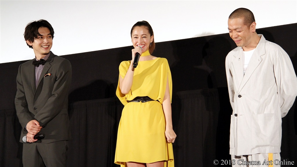 【写真】映画『猫は抱くもの』公開初日舞台挨拶 沢尻エリカ