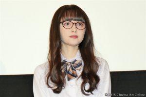 【写真】映画『わたしに××しなさい!』完成披露上映会舞台挨拶 (玉城ティナ)