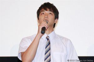 【写真】映画『わたしに××しなさい!』完成披露上映会舞台挨拶 (佐藤寛太)