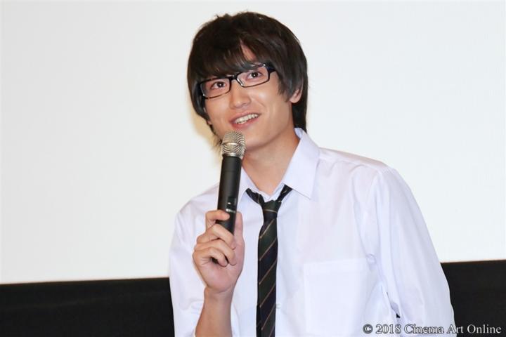 【写真】映画『わたしに××しなさい!』完成披露上映会舞台挨拶 (金子大地)